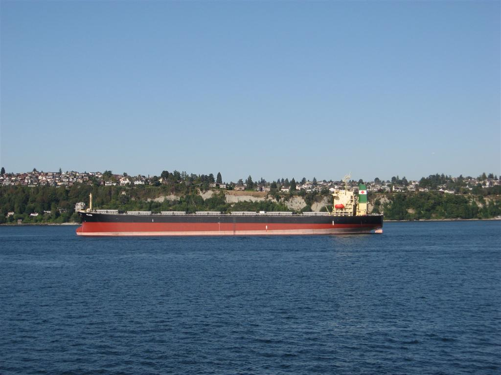 Empty Tanker in Seattle