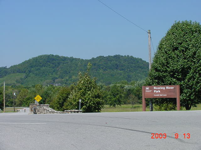 Roaring River Park Entrance